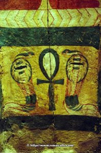 egypt-roll-22-of-33-picture-27-of-36-luxor-mummification-museum-sarcophagus-detail-serpentsand-ankh